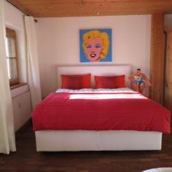 Ferienwohnung mit Outdoor-Schlafplatz
