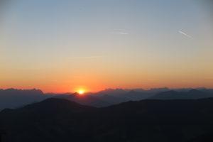 Sonnenaufgang vom Schatzberg