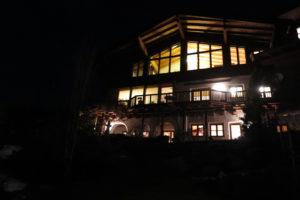Haus am Abend